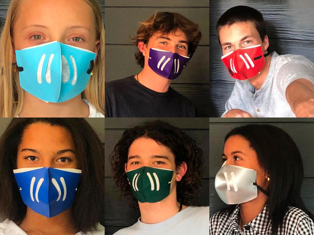 Reusable face mask sizes